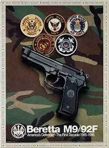 Beretta M9/92FS Promotional poster (1995) | BERETTA ...