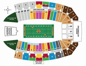 Facility Seating Charts Iowa State University Athletics