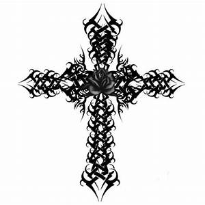 Fancy Cross Outline Gothic Cross #Vlkgvj - Clipart Suggest