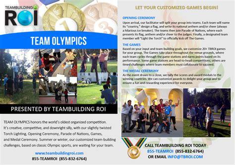 teambuilding roi bay area team building  corporate
