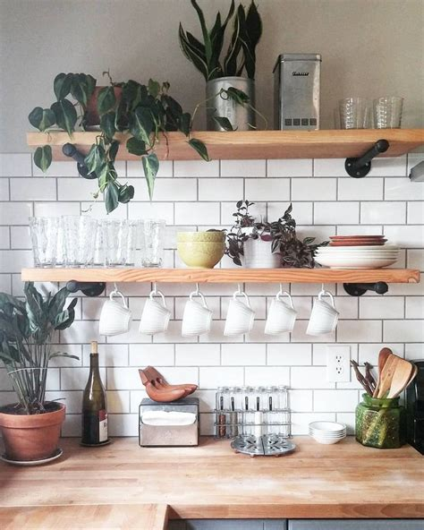 Rustic Living Room Wall Decor by The 25 Best Floating Shelves Kitchen Ideas On Pinterest