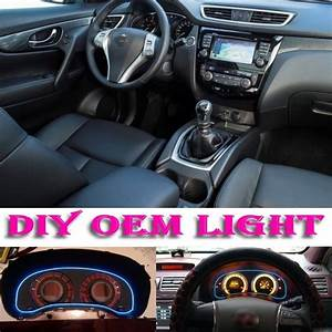 Car Atmosphere Light Flexible Neon Light El Wire Interior Light Decorative Decals Tuning For