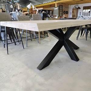Pied De Table 90 Cm : les tables ~ Teatrodelosmanantiales.com Idées de Décoration
