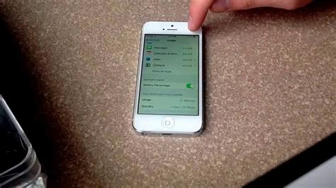 turn on battery percentage iphone how to turn on the battery percentage on an iphone 4