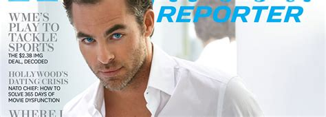 The Chris Pine Network » Chris Poses for Hollywood ...