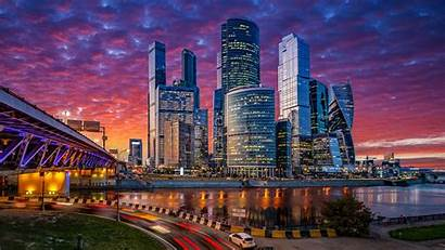 4k Cityscape Moscow Russia Wallpapers Buildings Backgrounds