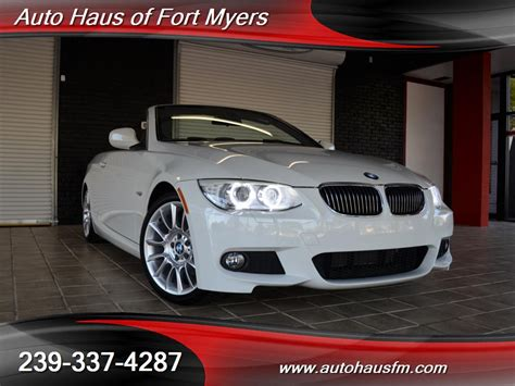 2013 Bmw 328i M Sport Convertible Ft Myers Fl For Sale In