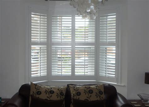 bay window blinds plantation shutters for bay windows expression blinds