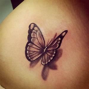 Kleiner Schmetterling Tattoo : butterfly tattoo google suche tattoo pinterest schmetterling tattoo tattoo ideen und ~ Frokenaadalensverden.com Haus und Dekorationen