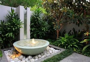 Fontaine Circuit Fermé : installer une fontaine de jardin moderne ~ Premium-room.com Idées de Décoration