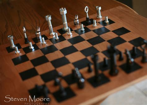 How To Make A Chess Board {chess Men}
