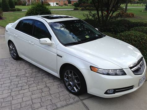 07 Acura Tl For Sale by Buy Used 07 Acura Tl Type S Navigation Heated Seats Back