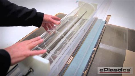 notching acrylic a table saw youtube