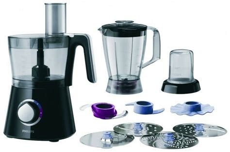 Philips Hr7762 / 90 Viva Collection Compact 3 In 1 Food Processor 2l Black