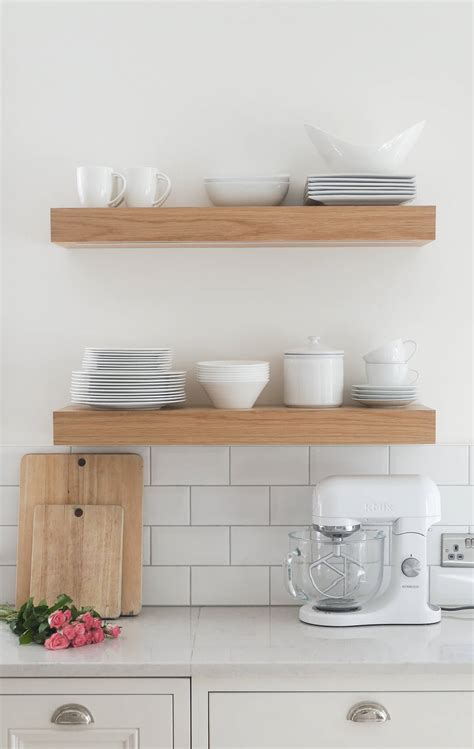 Open Shelf Kitchen Ideas - 3 ways to style open kitchen shelves the green eyed girl