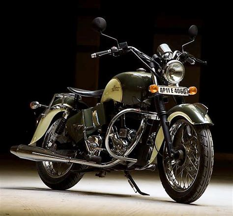 Indian Chief Modification by Heavily Modified Royal Enfield Bullet By Eimor Customs