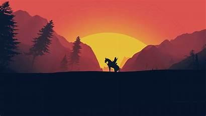 Witcher Netflix Minimalist Minimal Wild Wallpapers Hunt