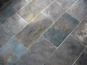 slate tile floor display jersey custom tile