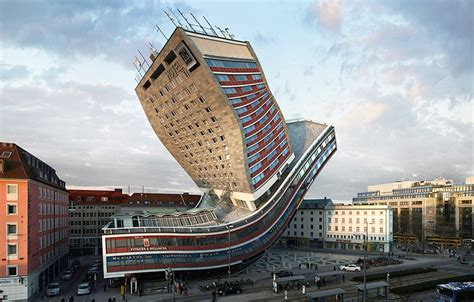 See This Munich Building Bend, Flip And Contort In 88