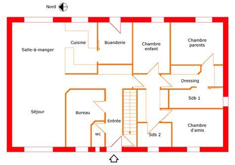 plan chambre feng shui feng shui maison plan exemple plan de maison with feng