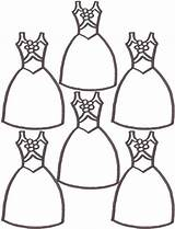 Coloring Pages Dresses Shoes Cartoon Ballerina Printable Cliparts Clothes Clipart Worksheet Library Clip Coloringhome Popular sketch template