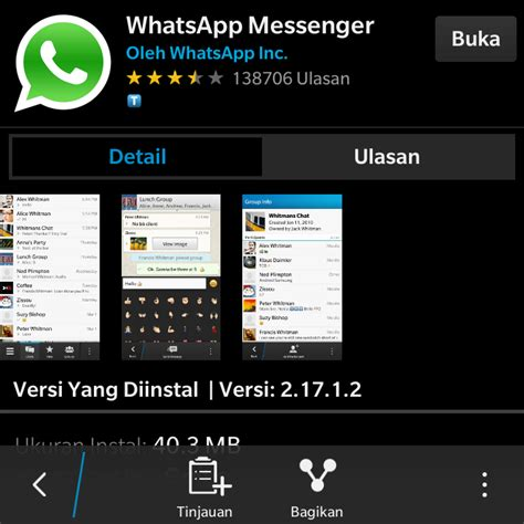 cara menginstall 2 aplikasi whatsapp di blackberry s 10