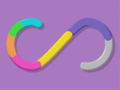 Loop Infinite Loading Animation Bar Dribbble Play