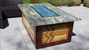 Diy, Patio, Fire, Pit, Table