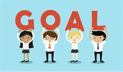 Goals Career Objective Setting Clipart Focus Resolutions