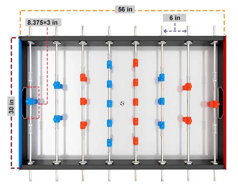 tornado foosball table dimensions what are the dimensions of a foosball table do you