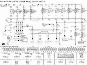 Engine Control System And Fuel Control System Wiring Diagram Of 1994 Mazda Rx