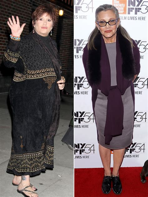 carrie fishers healthy living prior   heart attack