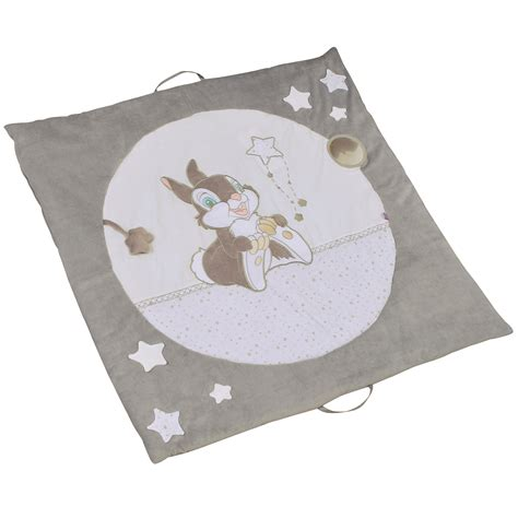 panpan tapis d 233 veil nomade gris de disney baby tapis d