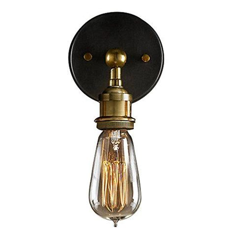 buyee 174 modern industrial brass wall sconce edison l