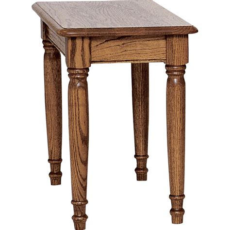 Chair Side Tables Oak by Country Solid Oak Farmhouse Chair Side Table 15 Quot X 27