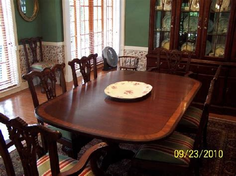 Ethan Allen Mahogany Dining Room Table by Ethan Allen Dining Room For Sale In Fort Lauderdale