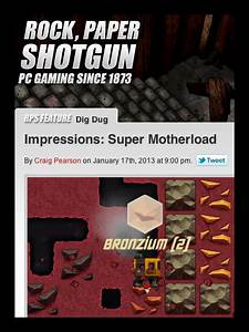Rock Paper Shotgun: Favourable First Impressions - by XGen