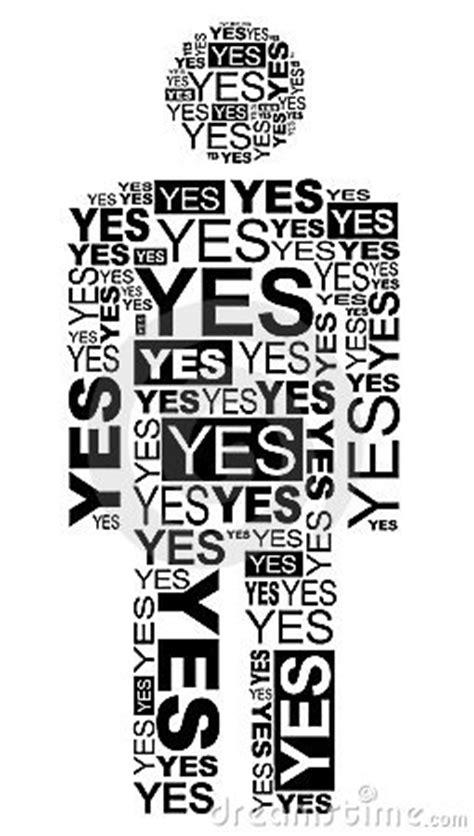 Yes Man Stock Image - Image: 17665601