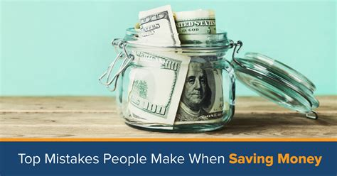 money saving mistakes mistakes people   saving money