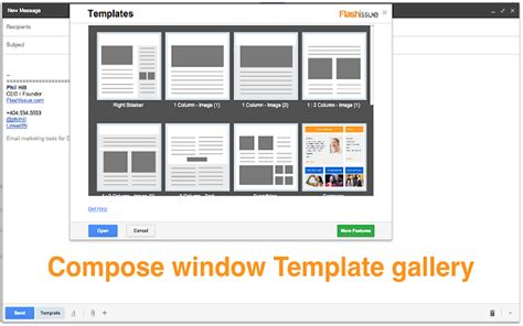 email templates  gmail chrome web store