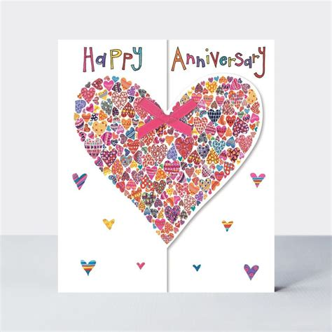 Wedding anniversary cards Collection Karenza Paperie