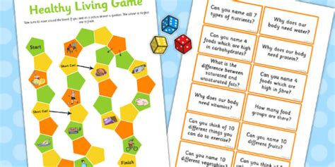 Healthy Living Game Ks2  Healthy Living, Game, Ks2, Healthy