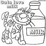 Milk Coloring Milky Way Colorings Printable Getcolorings Cats Getdrawings sketch template