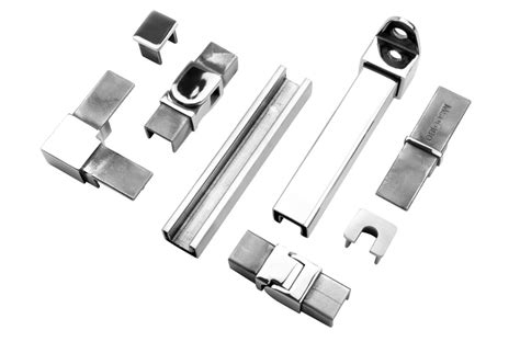 21x25mm Stainless Steel Slotted Handrail Tubing And Fittings