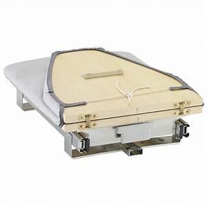 Planche à Repasser Murale : table repasser rabattable gris x x cm ~ Premium-room.com Idées de Décoration