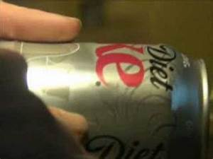 Subliminal Diet Coke Holiday Can 2007 - YouTube