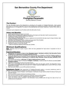 wildland firefighter description for resume entry level firefighter resume