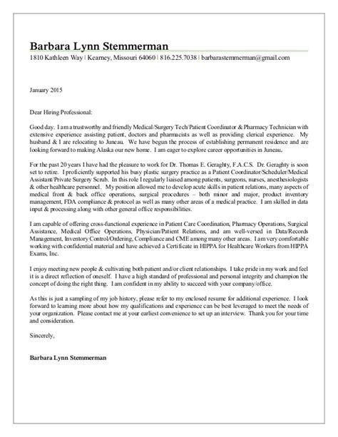 linkedin cover letter barbara stemmerman linkedin cover letter