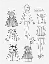 Paper Coloring Pages Picasaweb Google Dolls sketch template