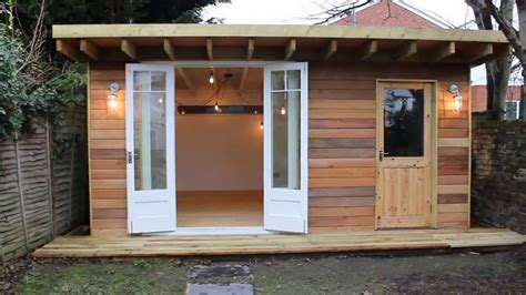 Log Cabin Home Interiors - man cave she shed garden office youtube